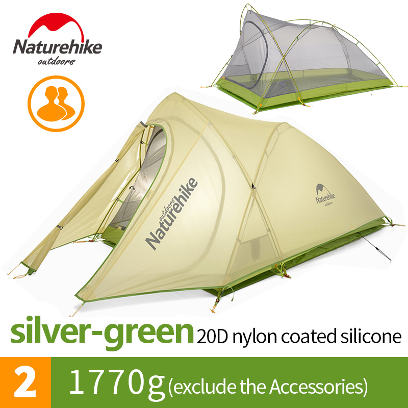 Naturehike 2 Person Ultralight Waterproof Outdoor Camping ...