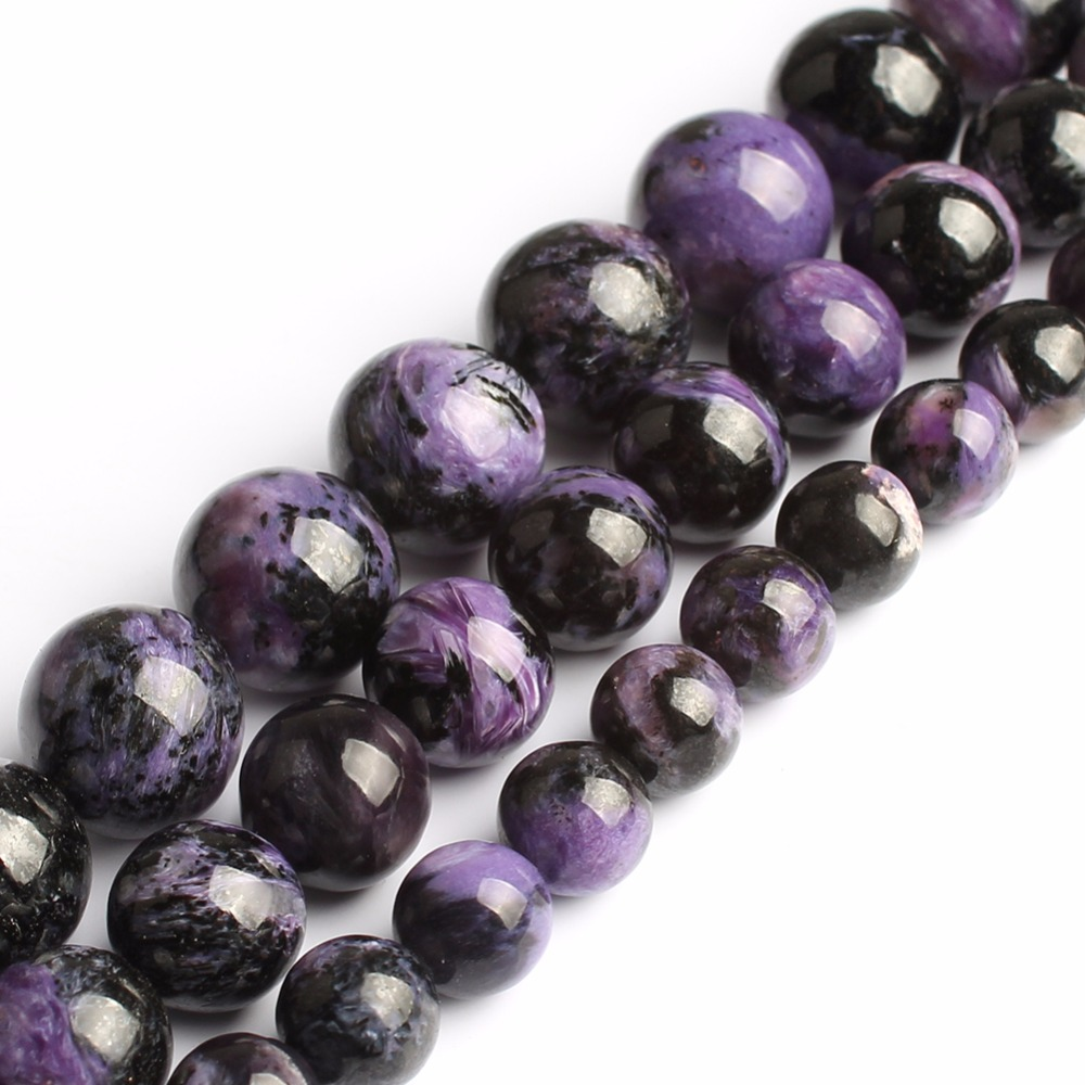 Free Shipping Natural A+ Quality Natural Stone Purple Amethysts Purple Charoite Round Loose Beads 15 Strand 8 10 12MM Pick SizeFree Shipping Natural A+ Quality Natural Stone Purple Amethysts Purple Charoite Round Loose Beads 15 Strand 8 10 12MM Pick Size