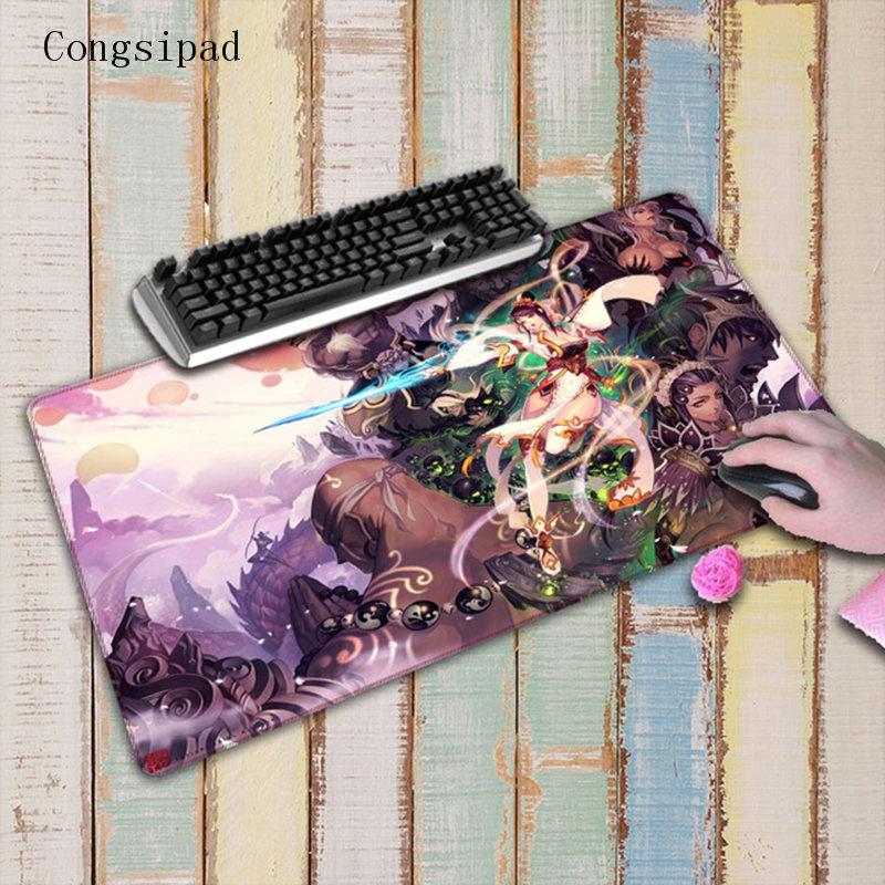 Congsipad Anime Girl Fantasy Art Large Gaming Natural