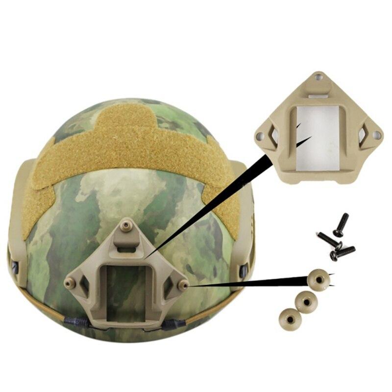 Tactical Helmet Night Vision Mount Devgru Style FAST VAS Shroud NVG For ACH MICH PASGT Helmet