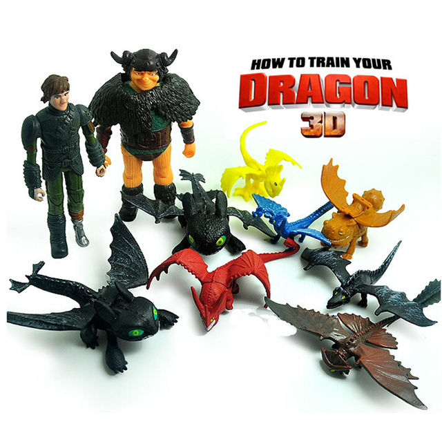 christmas birthday gift free shipping how to train your dragon 2 toothless night fury pvc action - How To Train Your Dragon Christmas