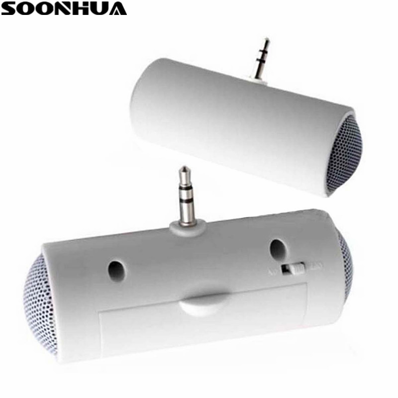 Active Soonhua Portable 3.5mm Mini Pocket Mobile Phone Speaker Stereo Music Player For Mp3 Mp4 Smart Phone Laptop Hand Loudspeaker