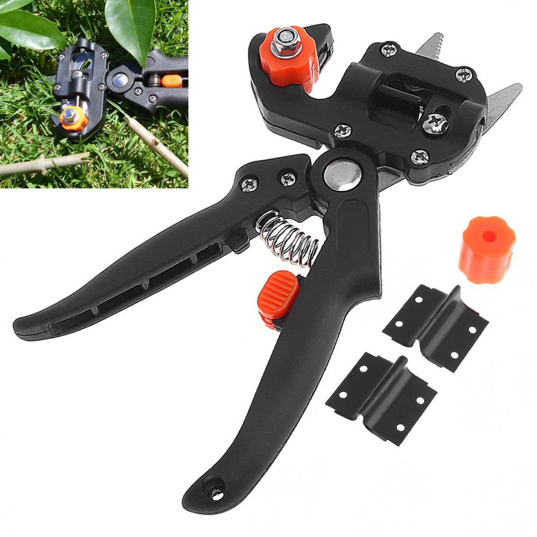 Professional Handle Pruning Shears Grafting Cutting Tool with Replace Parts for Garden Fruit Tree professional handle pruning shears grafting cutting tool with replace parts for garden fruit tree