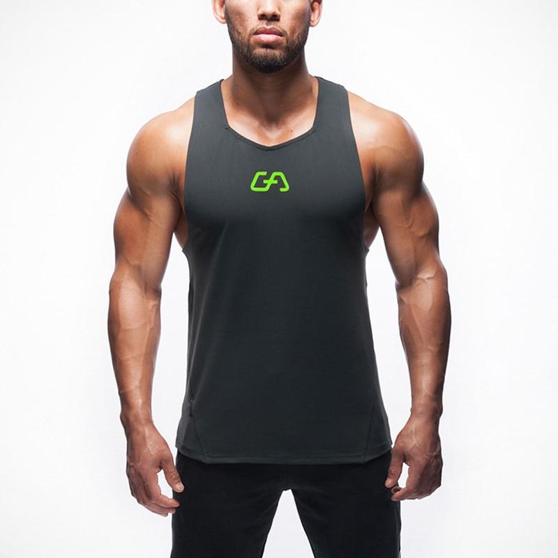 Yeni Yaz Marka Gymshark Erkek Tank Tops Stringer vücut Ekipmanları Fitness erkek Tanklar Giyim Gymshark Tops