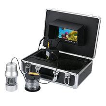 MAOTEWANG 15 м 30 М Подводная охота Видео Камера Рыболокаторы 7 дюймов Цвет Экран Водонепроницаемый 22leds 360 градусов Rotatin