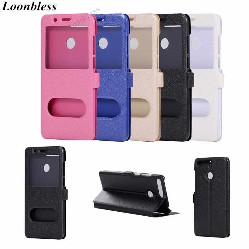 Case For Huawei Honor 10 V10 V9 9 V8 8X 8C 8 7X 7C 7A 6X 6C 6A 6 5X 5C 5A Pro Lite Play case Filp Windows Leather Phone Cover