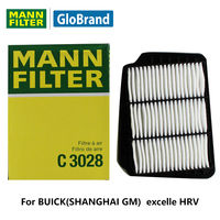 Mannfilter車エアフィルターc3028用ビュイック(上海gm) excelleの1.6l/1.8l/excelleのhrv 1.6l自動部品