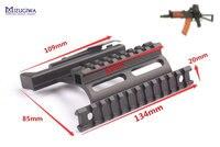 MIZUGIWA Tactical Heavy Duty AK Side Mount Rail Quick QD 20mm Picatiiny Adapter AK Side Rail