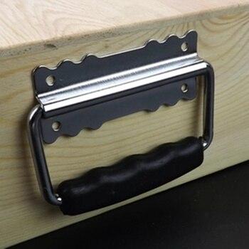 Nowy typ Box ring składana rączka do skrzynek narzędziowych walizki wyposażenie szafka pull gałki do szuflady akcesoria sprzętowe