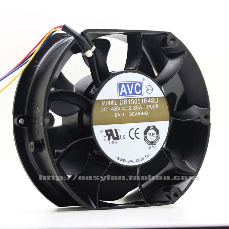 NEW AVC DB15051B48U 150mm 48V Double Ball bearing 15051 cooling fan струна ghs cтруны для электрогитары r ejm 11 52
