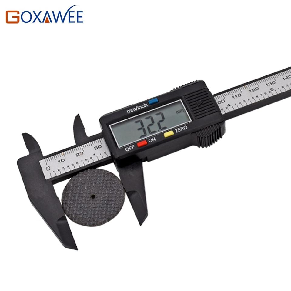 GOXAWEE 150mm 6-tolline digitaalne elektrooniline süsinikkiust - Mõõtevahendid - Foto 6