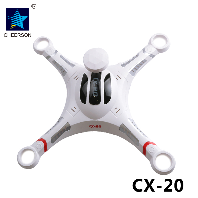 Cheerson CX-20 CX20 RC Quadcopter Spare Parts CX-20 Body Shell Cover Set Accessories cheerson cx 10c cx10c rc quadcopter spare parts camera board