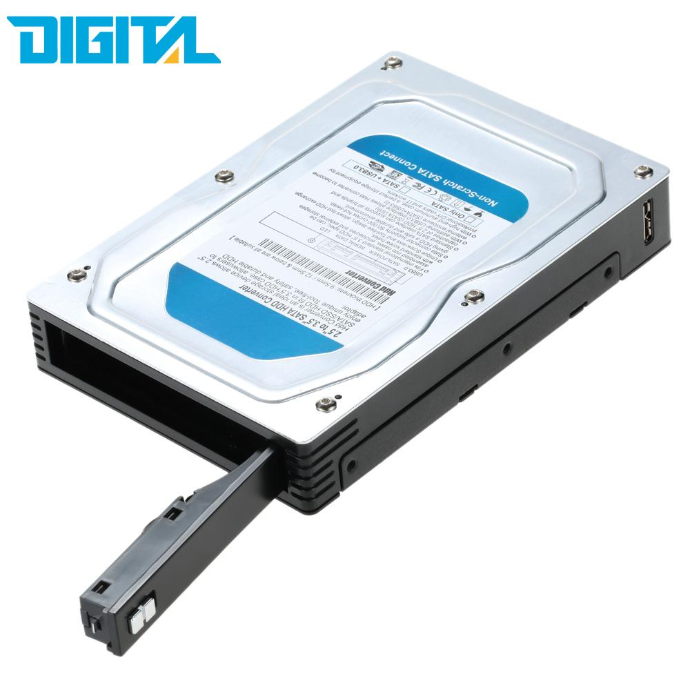 USB 3.0 2.5//3.5-inch SATA Hard Drive Laptop Hard Drive Shell Box External GA