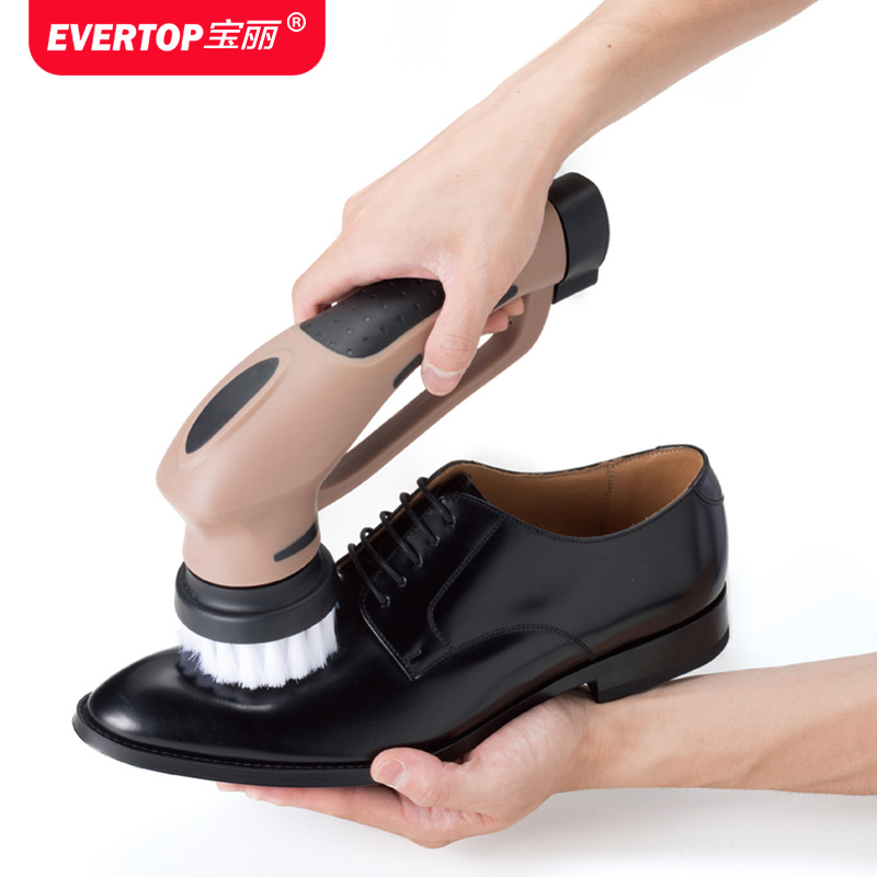 Multifunction Handheld Shoe shine machine electric Brush shoes Vehicle type Household Leather goods Care device 1 pc 220v 100w automatic shoe machine utilities electric induction luxurious hall household brush shoes
