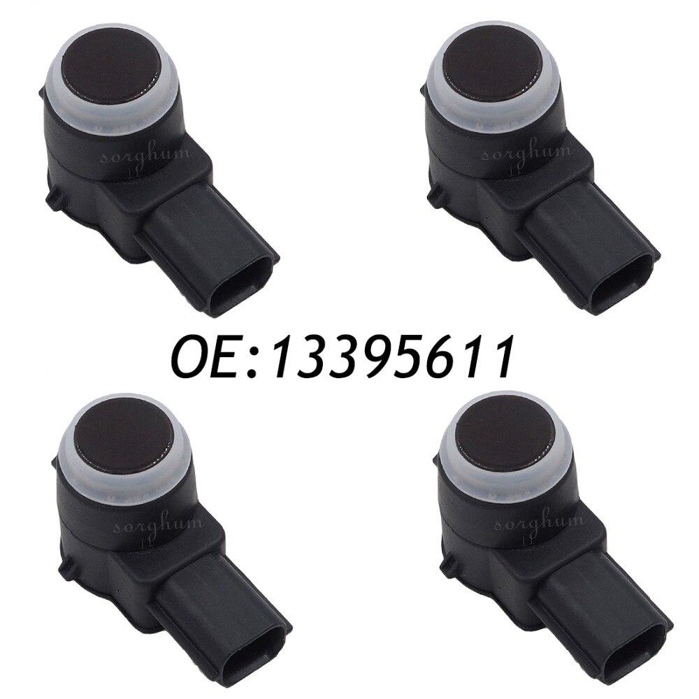 4PCS PDC Parking Distance Control Assist Sensor for GM 13395611 02630136814PCS PDC Parking Distance Control Assist Sensor for GM 13395611 0263013681