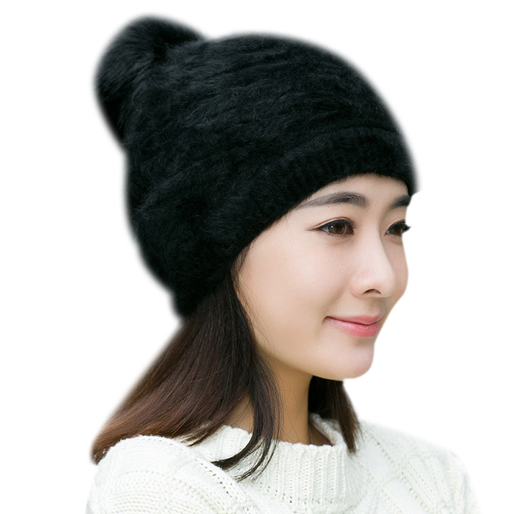 Winter Mulitcolour Warm Women Knitted Hat Fashion Beanies Female Lady Girls Warm Soft Plush Cap Skullies Sombrero Chapeau Dec26 multic femme skullies autumn beanies winter warm chapeau women hat female knitted cap ladies bonnet