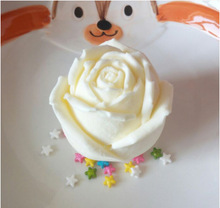 3D stereo Rose Silicone Mold for Chocolate Cake Decorating Tool Handmade flower soap mold