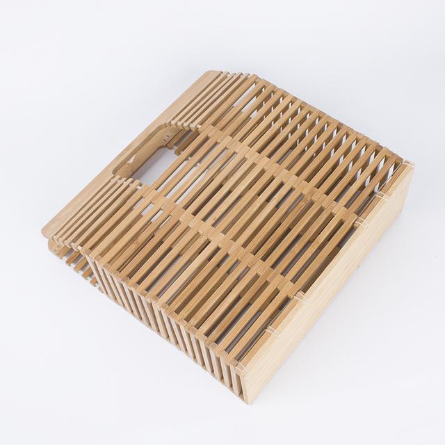 ARPIMALA 2017 Luxury Designer Beach Bags Small Fashion Bamboo Bag Women Travel Straw Tote Clutch Trunk Ladies Hand Bag Handbags