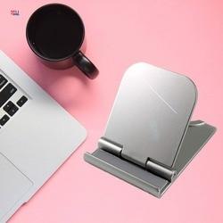 DFQNGL 4-6 inches Universal Folding Mobile Phone Holder Tablet Holder Adjustable Desktop Holder for iPhone SAMSUNG Stable Holder