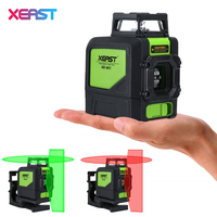XEAST XE 901 5 Lines 3D Green Laser Levels Self Leveling 360 Horizontal An Vertical Cross