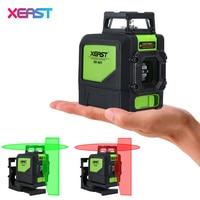 XEAST XE 901 5 Lines 3D Green Laser Levels Self Leveling 360 Horizontal An Vertical Cross