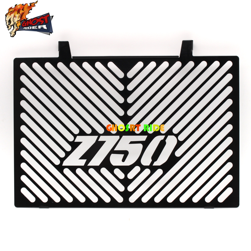 Motorcycle Radiator Grille Guard Cover Protector for Kawasaki Z750 (not Z750S model) 2007 2008 2009 2010 2011 2012 motorcycle radiator protective cover grill guard grille protector for kawasaki concours 14 gtr1400 2007 2008 2009 2010 2011 2016