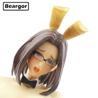 16 Anime NON VIRGIN Bunny girl Oda non Yuuko Kuwashima 1/4 Scale Boxed 41cm PVC Sexy Girl Action Figure Model Doll Toys Gift