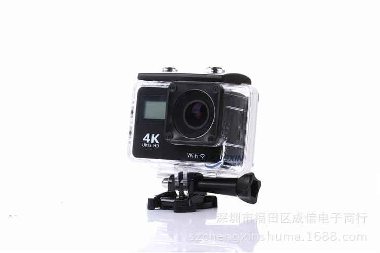 Action camera F65R Ultra HD 4k WiFi 1080p/60fps with 2.0 LCD 170D Screen