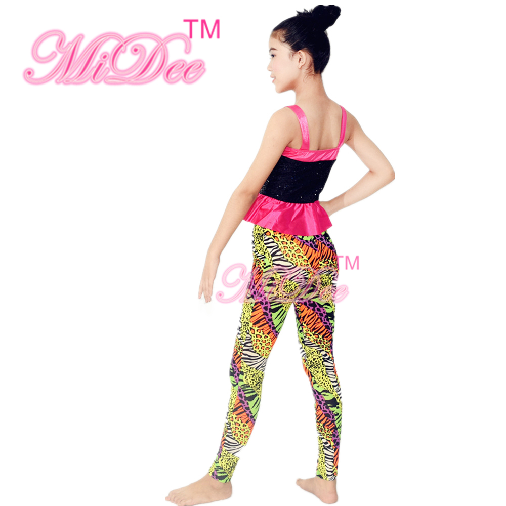 36f918f087b7 Sequins Sling Jacket Hip Hop Dance Costume Girls Gymnastics Leotards-in  Ballroom from Novelty & Special Use on Aliexpress.com | Alibaba Group