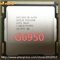 Intel Pentium G6950 Процессор (2.8 ГГц/3 МБ Кэш/LGA1156/Dual-Core) 73 Вт настольных ПРОЦЕССОРОВ (работает 100% Бесплатная Доставка)