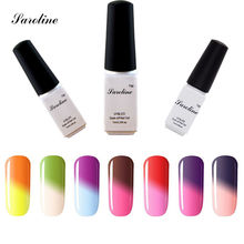 Saroline 3d Temperature Change Color lucky Gel Nail Polish Thermo Gel Pick Any 1Color Gel Varnish Thermo Changing cheap