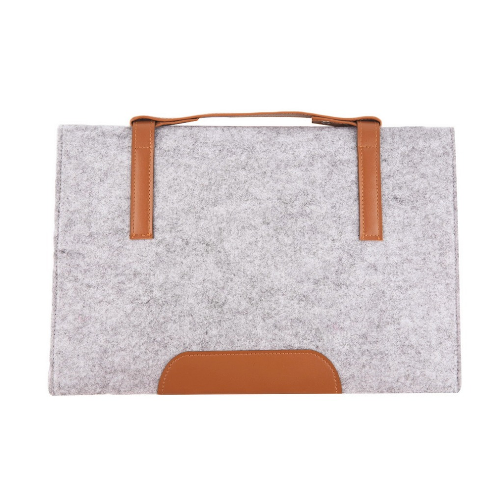 Fashion 13 inch woolen felt laptop cover case notebook for 13 inch table