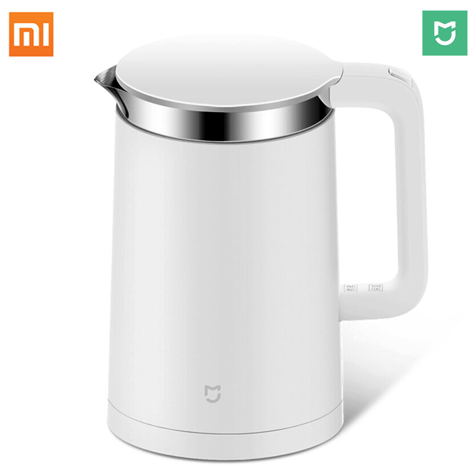 Xiaomi Intelligeent Electric kettle Smart Constant Temperature Control Mijia 1.5L Thermal Insulation teapot Mi home Mobile APP умный электрочайник xiaomi mi smart kettle eu