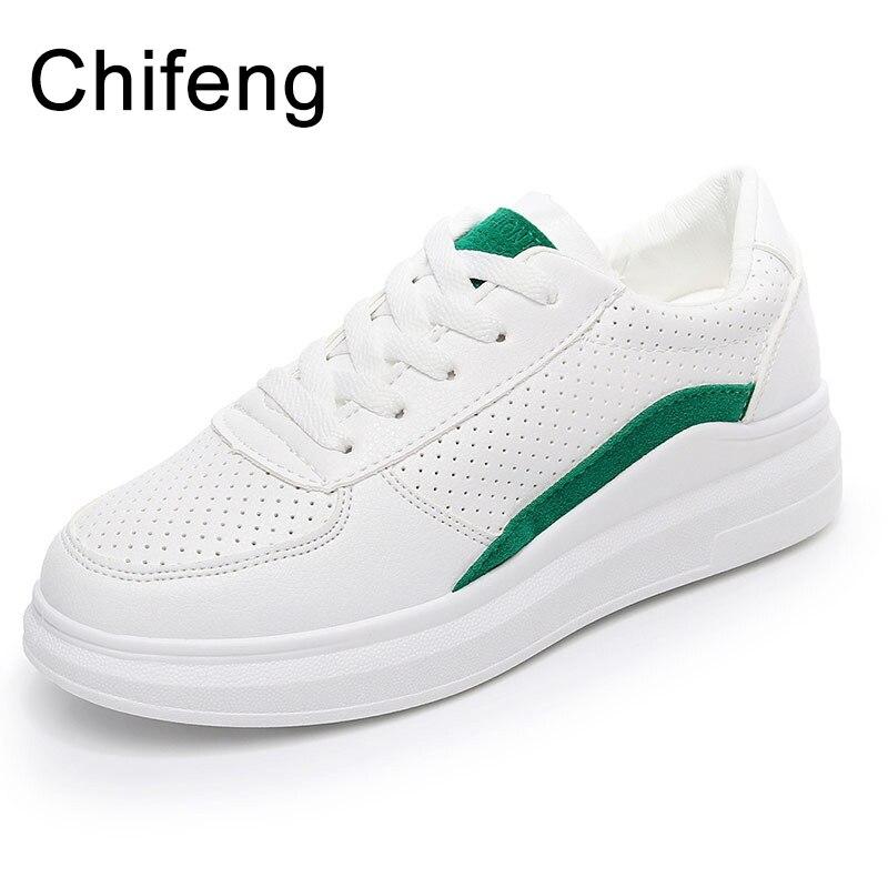 women shoes platform sneakers woman 2018 fashion womens casual white spring shoes