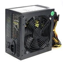 Yüksek Kaliteli 1000 W Bilgisayar PC CPU için Aktif PFC Güç Kaynağı verimli 2-PCIE LED Fan ATX Intel için 12 V PC Güç Kaynağı AMD
