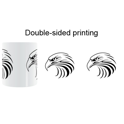 US $13 5 10% OFF|American Bald Eagle Mug Coffee Milk Ceramic Cup Creative  DIY Gifts Home Decor Mugs 11oz T671-in Mugs from Home & Garden on