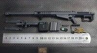 [ESTARTEK] Minitoys M107A1 / M82A1 1/6 Barrett Sniper Rifle Alloy Model Weapons for 12 Collectible Action Figure DIY