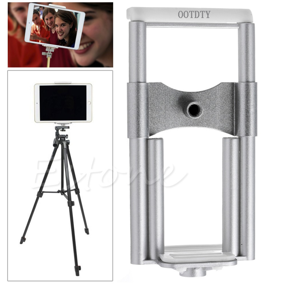 OOTDTY Universal Stand Clip Bracket Tripod Holder Clip Mount For Phone Tablet