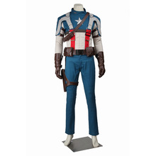 Captain America Cosplay Captain America: The First Avenger Steve Rogers Captain America Costume Halloween Costume Cosplay