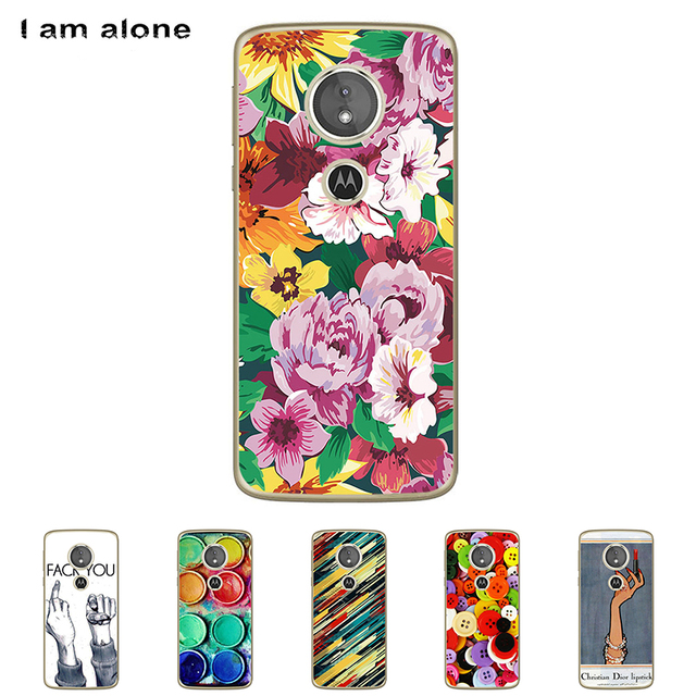 brand new d2904 b662b US $1.12 20% OFF|For Motorola Moto E5 5.7 inch Solf TPU Silicone Color  Paint DIY Case Mobile Phone Cover Bag Cellphone Housing Shell Skin Mask-in  ...