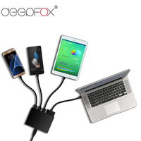 DeepFox 5 Port USB 3.0 Quick Charge Fast Charger Power Adapter For Laptop Notebook Phone Tablet