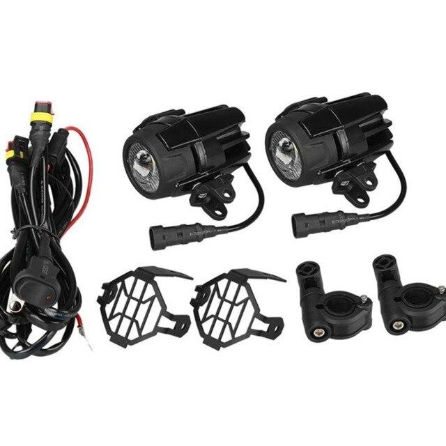 Phare de conduite universel de phare antibrouillard auxiliaire de LED de moto pour BMW R1200GS/ADV/F800GS