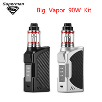SUB TWO Original 90W Vape Kit Bulit in 2200mah Battery Vape LED Screen Smoke Vaper Huge Vapor Electronic Cigarette Vapet Pen