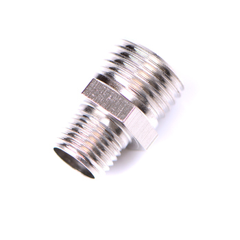 1pcs Male Airbrush Hose Adapter Fitting Connector for Mini Air Compressor image