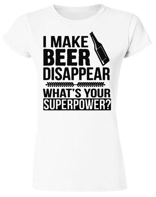 Io Faccio La Birra Scomparire T-shirt tp73V