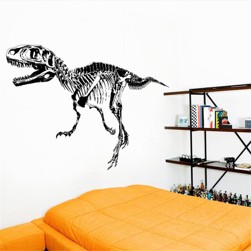 Home Decor Dinosaur Fossils Animals Home Decor Removable Wall Stickers Decals Decoration wall sticker Home Deco mirror JU31