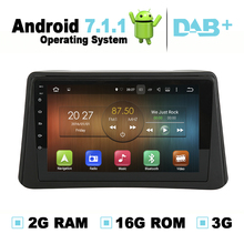 9 pulgadas 2G Ram Android 7.1.1 navegación GPS Radios sistema estéreo de medios Radios video audio para Buick encore 2013-2015