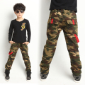New 2016 Spring Teens Jeans For Boy Camouflage Baby Boys Jeans Pants Designer Kids Jean Children Elastic Waist Denim Long Pant