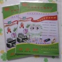 Цветная струйная прозрачная/прозрачная водная горка переводная бумага для печати 20 шт А4