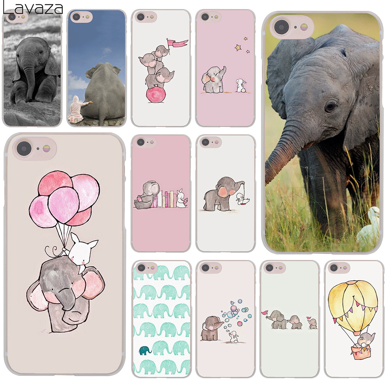 Babaite Kartun Lucu Gajah dan Kelinci Silikon Lembut Tpu